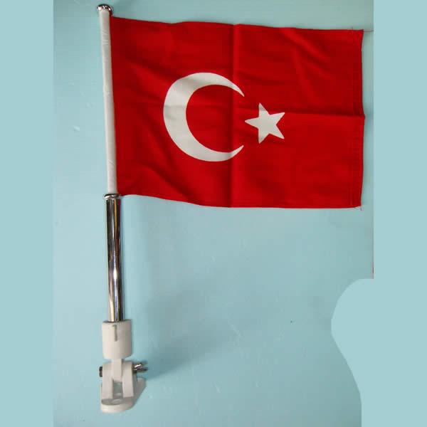 Bayrak Direği Krome (Katlanır)