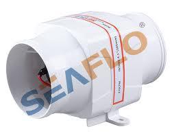 Seaflo Düz Blower 12 V 75 mm