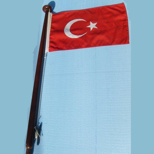 Bayrak Direği Ahşap