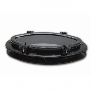 Plastikl Lumbuz Elips Siyah 40×21